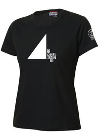 Ohoy! black T-shirt for ladies