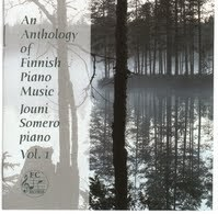 An Anthology of Finnish Piano Music, Vol. 1 (2 CD) - Somero