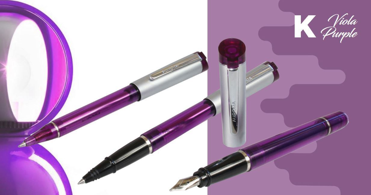 Dislocazione Dollaro Magistrato  Kappa Viola fountain pen - MoreOn Shop
