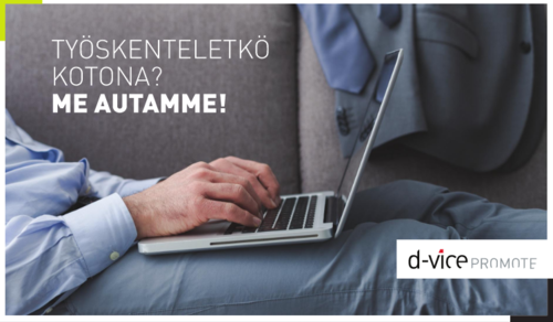D-Vice Working From Home -kuvasto